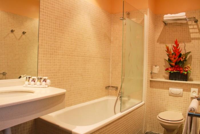 Galerie photos h tel spa les bains romains for Salle de bain romaine