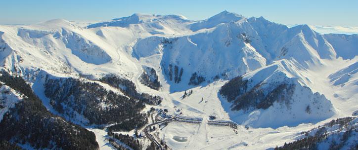 la station de ski du mont dore h 244 tel spa les bains romains
